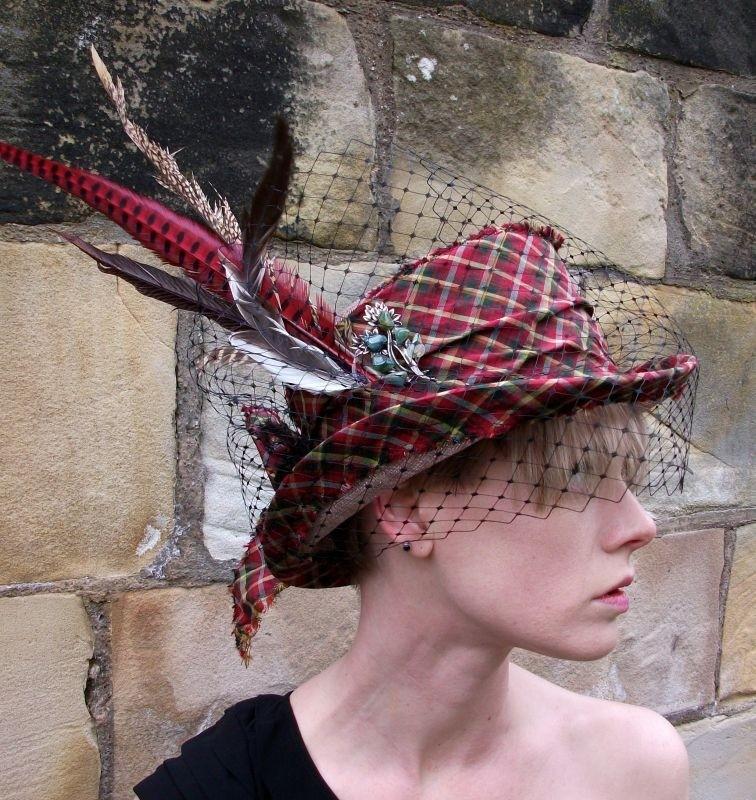 Sinamay Bespoke Top Hat