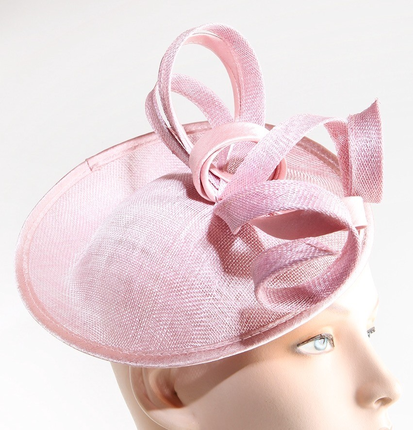 Fabhatrix Dolly Small Disc Sinamay Hat