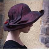 Fabhatrix Bespoke Napier Structured Sinamay Hat