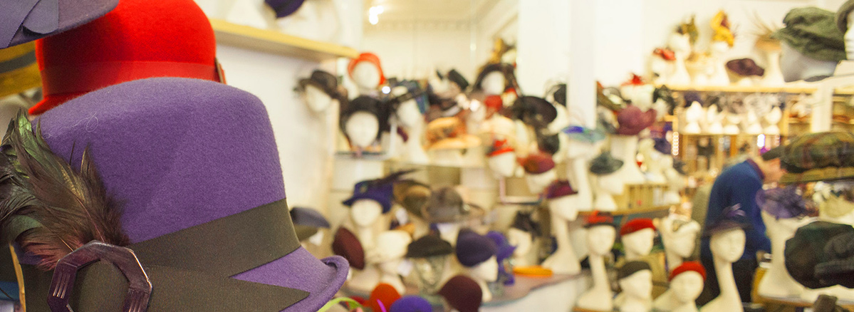Visit our Independent Hat Shop in Edinburgh